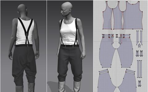 نرم افزارهای طراحی مد و لباس